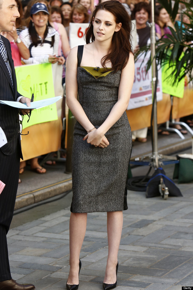 kristen stewart the today show