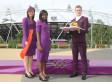 London 2012: Olympic Athletes' Purple Podium Revealed (POLL)