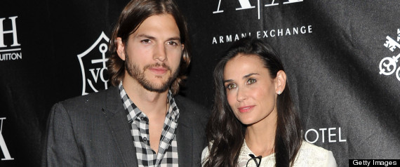 Ashton Kutcher Demi Moore Not Filed Divorce Papers