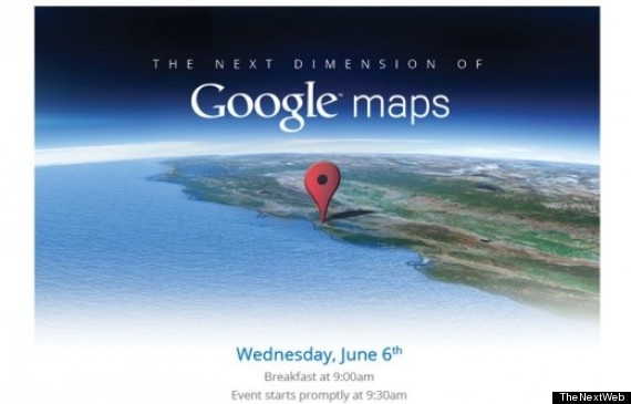 google maps event