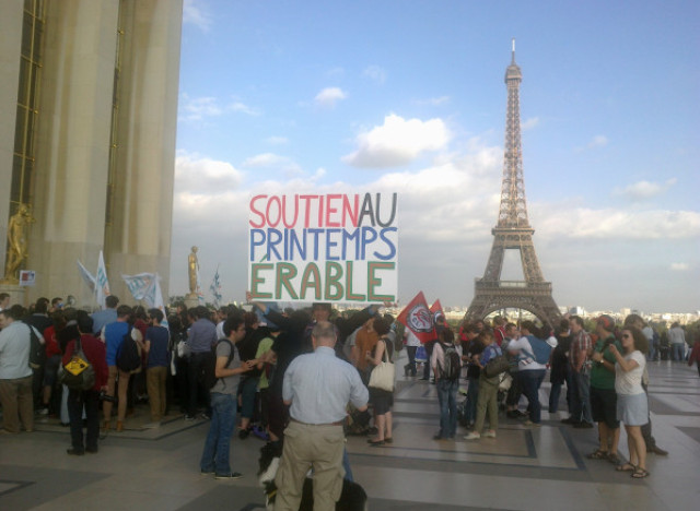 eiffel tour manifestation