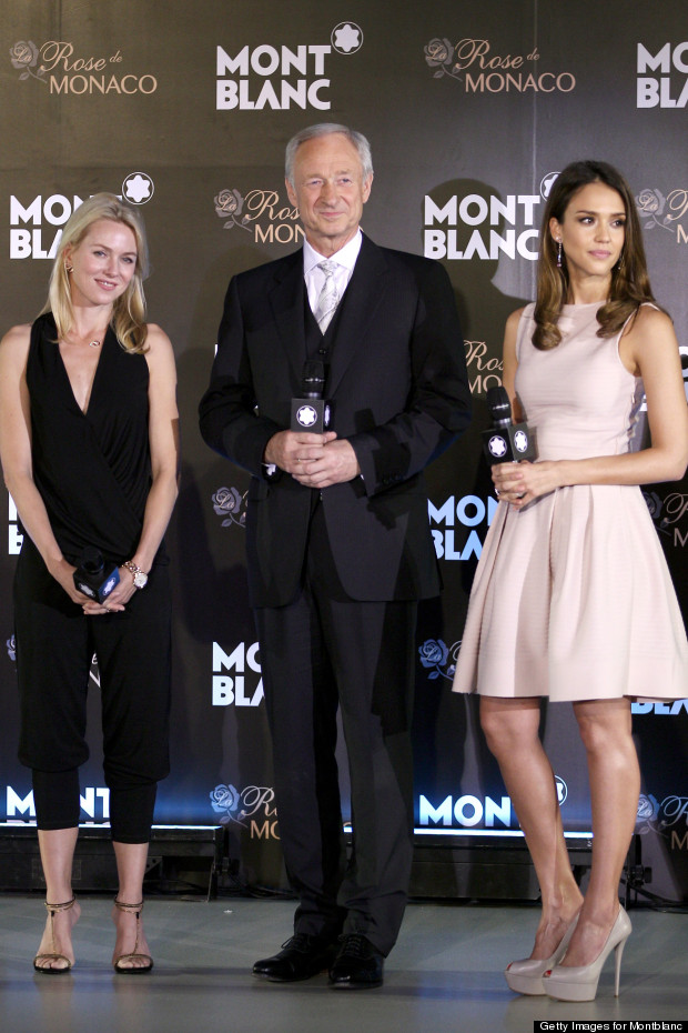 naomi watts and jessica alba montblanc