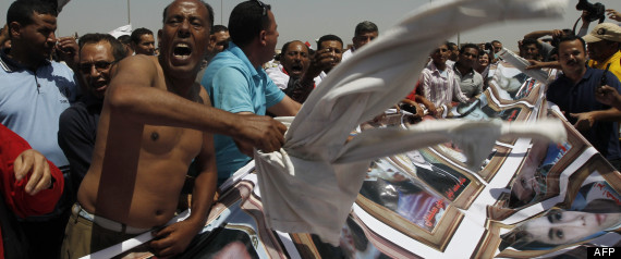 EGYPTE MANIFESTATION MOUBARAK