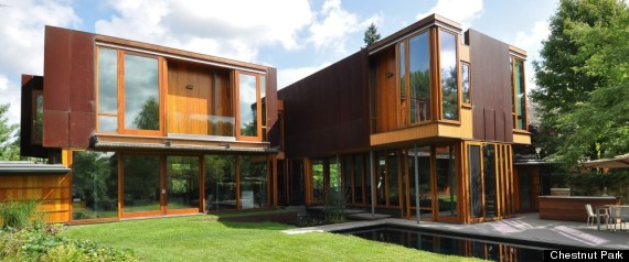 HOUSE OF THE WEEK WEATHERING STEEL