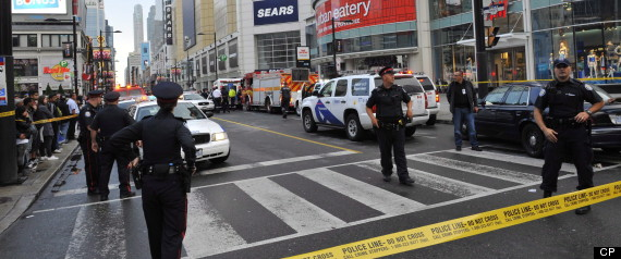 EATON CENTRE SHOOTING
