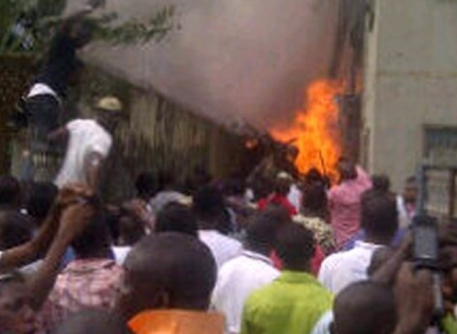 accident avion nigeria