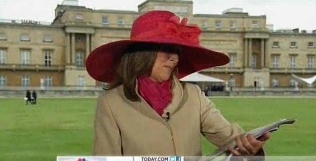 meredith vieira hat