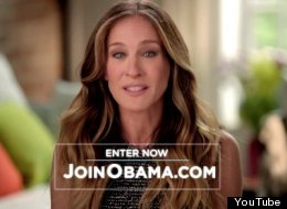 WATCH: Sarah Jessica Parker For Obama