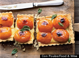 Apricot And Basil Tart