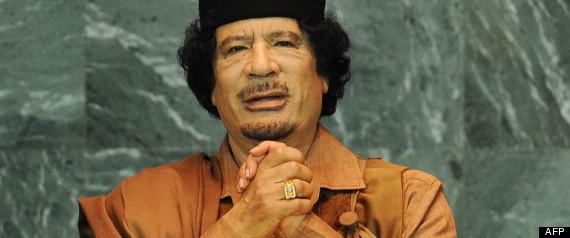 KADHAFI LIBYE