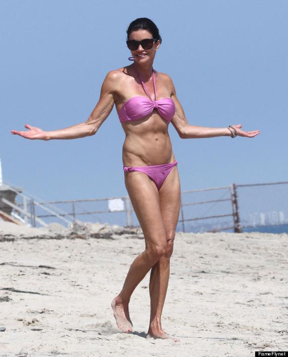 janice dickinson bikini