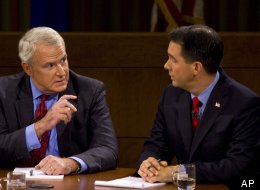 Wi Recall Scott Walker Tom Barrett