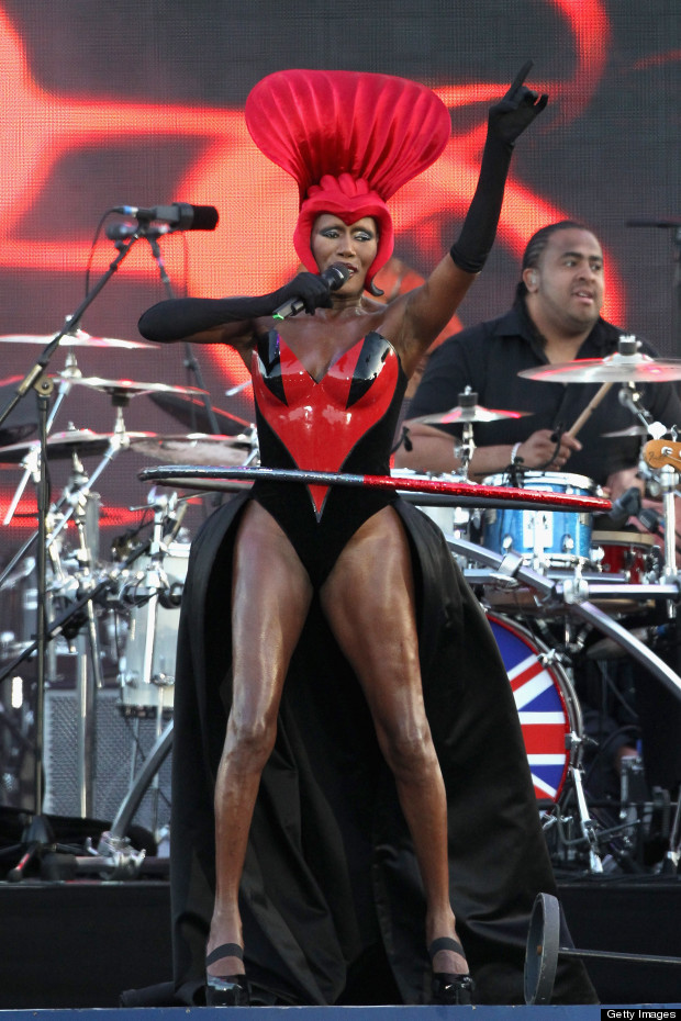 grace jones diamond jubilee concert style