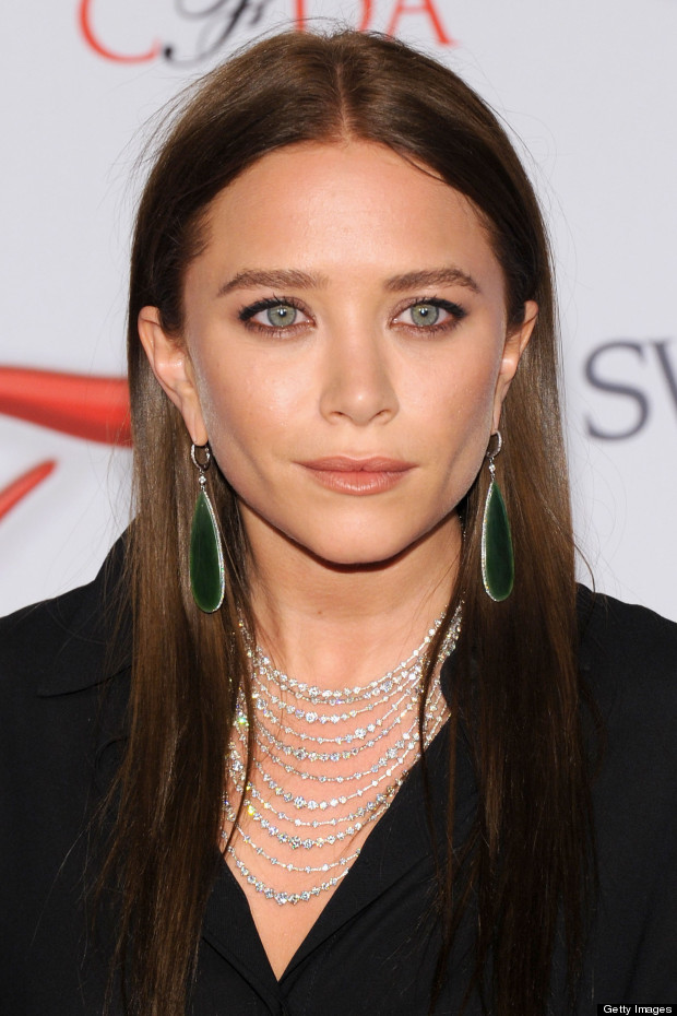 mary kate olsen new brown hair