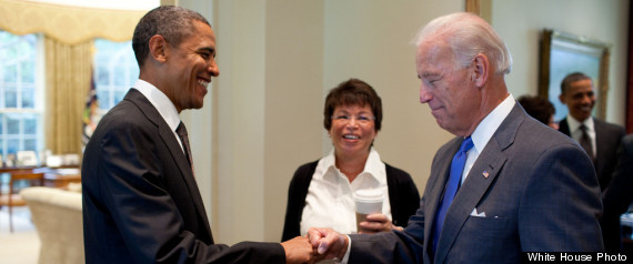 Barack Obama Joe Biden Fist Bump