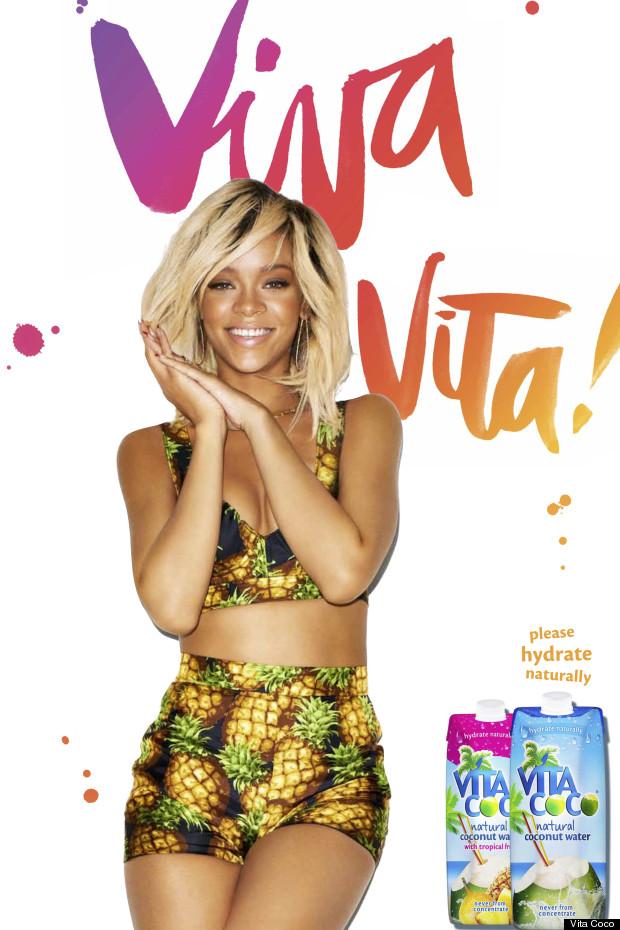 rihanna vita coco campaign