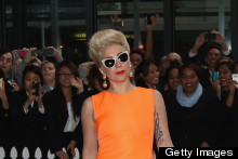 Lady Gaga Shocks In Chic And Elegant Ensemble As She Arrives In Auckland