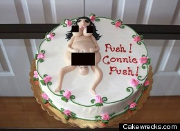 Awkward Baby Shower Cakes