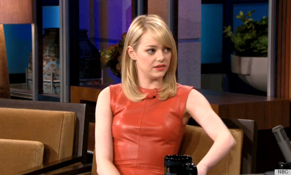 emma stone tonight show