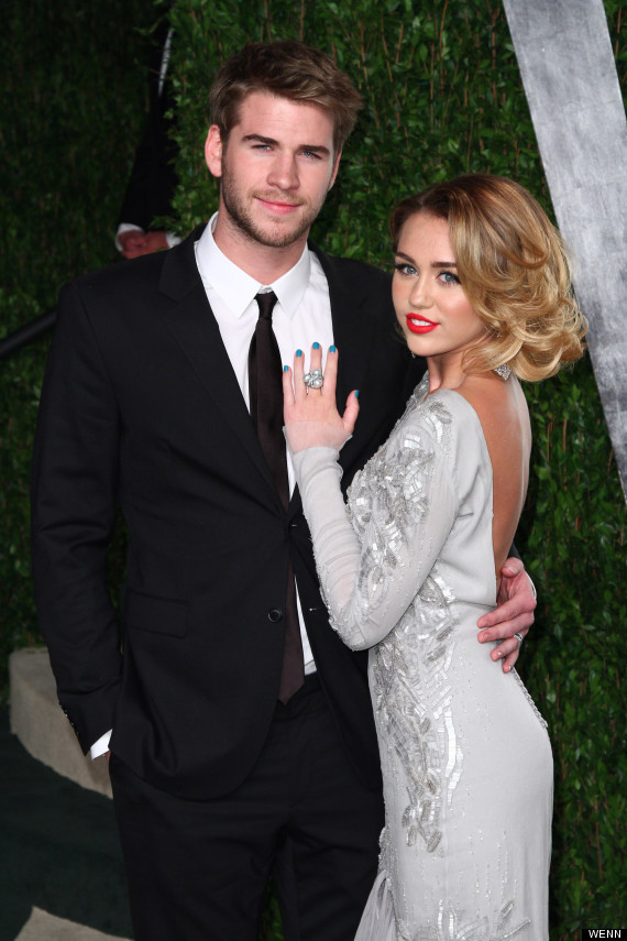 miley cyrus engaged