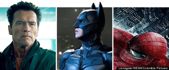 ENTERTAINMNENT SPLASH EXPENDABLES BATMAN SPIDER