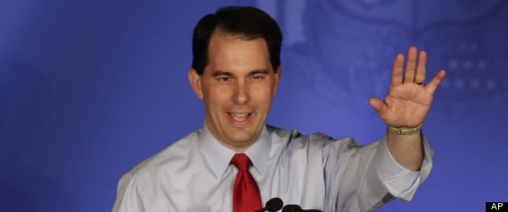 Scott Walker Recall Protesters