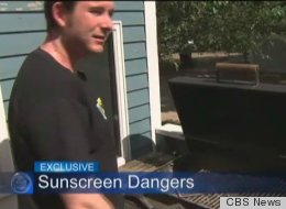 Sunscreen Fire Accident