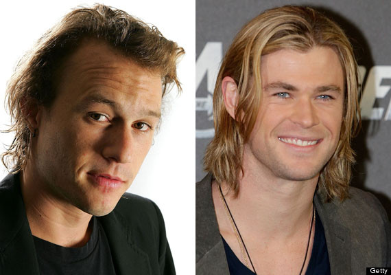 chris hemsworth heath ledger