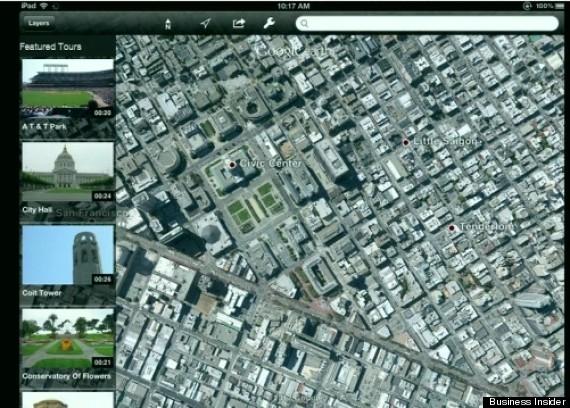 3d maps tour guide