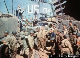 D Day Invasion Color AFP  Getty Images