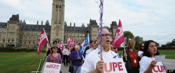 CANADA UNIONS ITUC REPORT