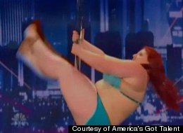 Plus Sized Pole Dancer