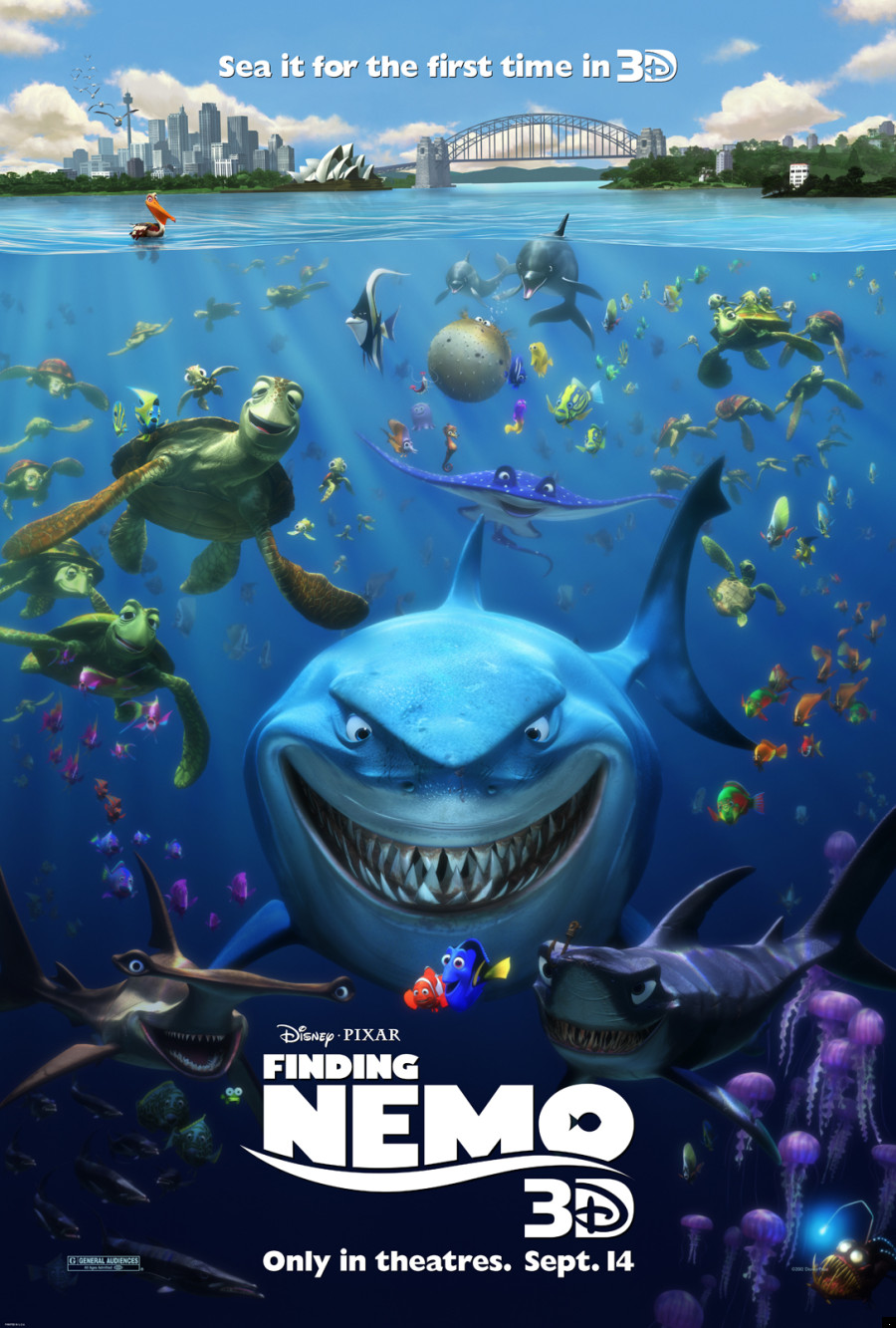 Image result for poster finding nemo