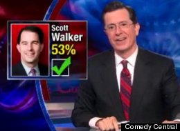 Colbert Scott Walker Recall