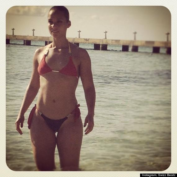 bikini Alicia keys hot