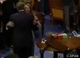 WATCH: John Boehner Shows Nancy Pelosi Some Bipartisan Affection