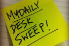 WIN: The MyDaily Desk Sweep...