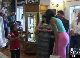 WATCH: Girl Wows Michelle Obama With Violin Performance