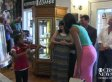 Sydney Trapp, 6, Plays Violin For Michelle Obama During Surprise Visit (VIDEO)