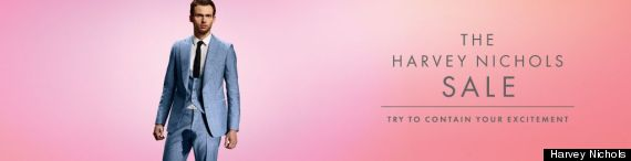harvey nichols advert