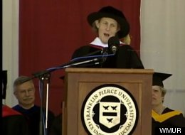 Temple Grandin Franklin Pierce Commencement
