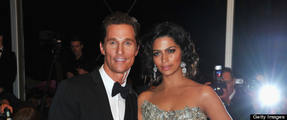 MATTHEW MCCONAUGHEY CAMILA ALVES WEDDING