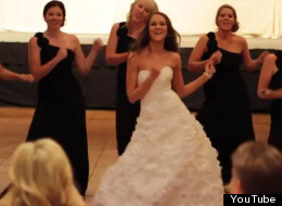 Wedding Bridal Party Dance Off