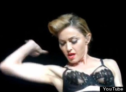 Madonna Flashes Nipple During MDNA Tour