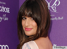 PHOTOS: Lea Michele Is Business In The Front, Party In The Back