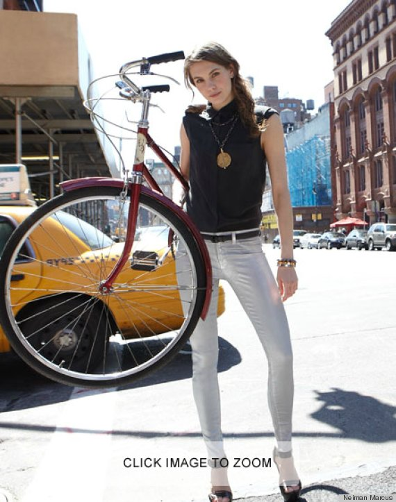Photoshop fail makes bike magically vanish on neiman marcus website