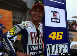 EXCLUSIVE CLIP: Valentino Rossi Hot On The Wheels Of History
