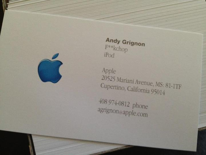 steve jobs andy grignon