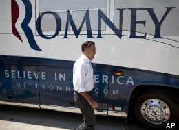 Romney Bus Tour