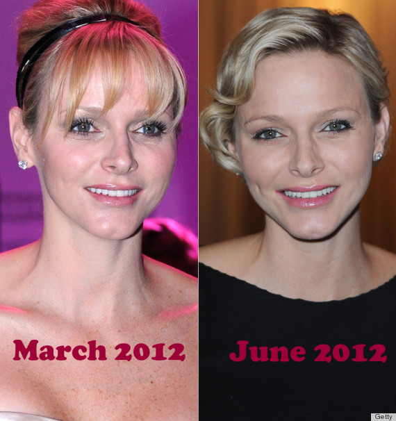 princess charlene face